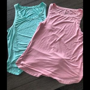 Two soft and sexy tanks